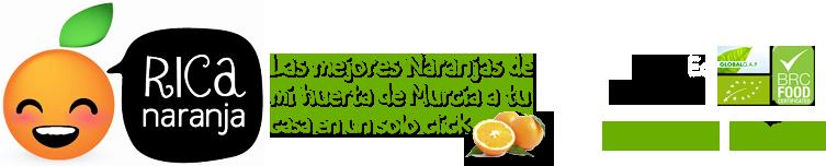 Comprar Naranja Ecológica Ricanaranja.es-logo